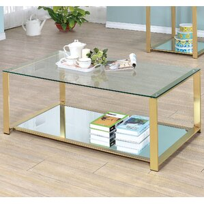 Ruchelly Metal Frame Coffee Table by Willa A..