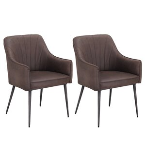 Marques Luxury Upholstered Dining Chair (Set of 2) by Corrigan Studio