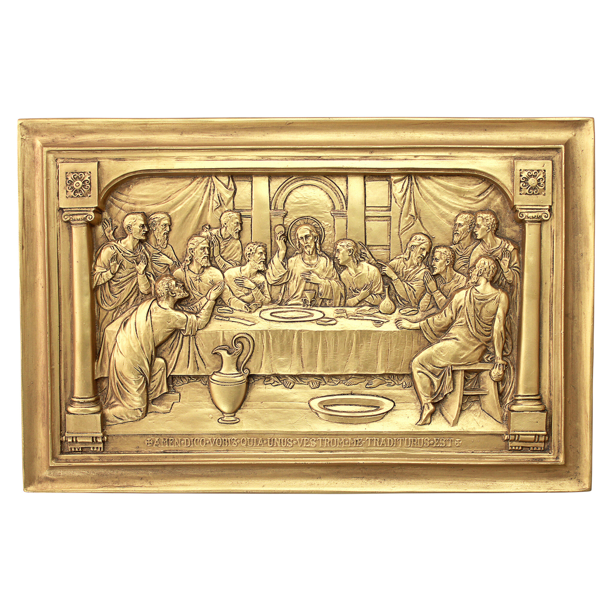 Fine Last Supper Wall Decor Mold - The Wall Art Decorations ...