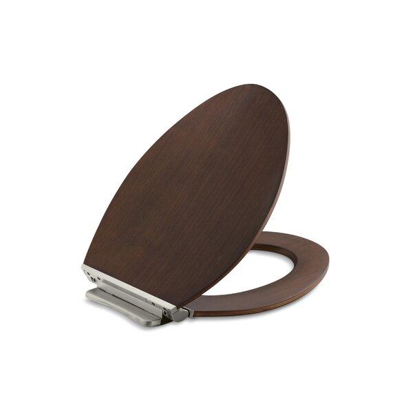 elongated padded toilet seat with metal hinges. astounding elongated padded toilet seat with metal hinges . kohler avantis quiet-close grip-tight
