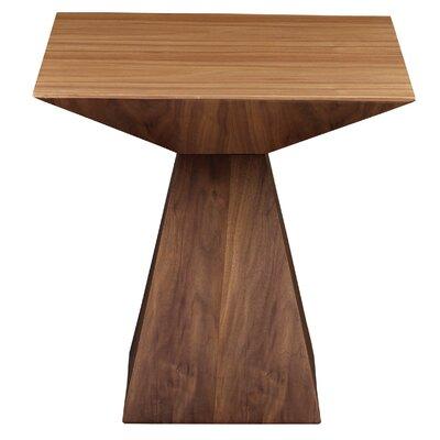 Brayden Studio Danley End Table Color: American Walnut