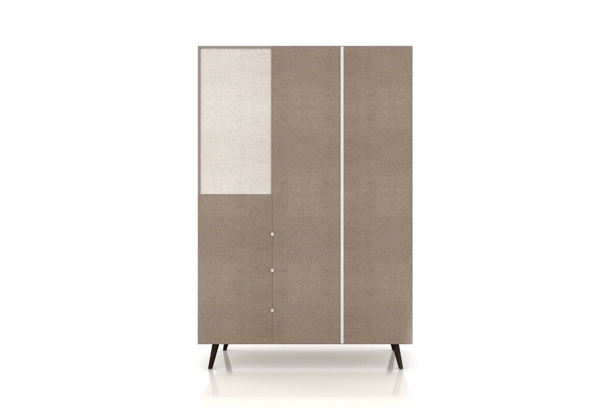 Lewis Wood Mid Century Modern Armoire
