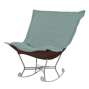 Azaria Scroll Sterling Rocking Chair