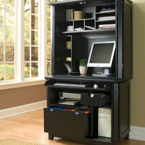 desk armoires you'll love | wayfair