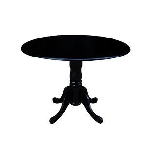Quickview  sc 1 st  Wayfair & Black Round Kitchen u0026 Dining Tables Youu0027ll Love   Wayfair