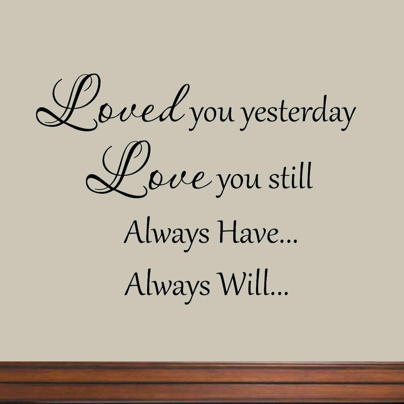 Winston Porter Clinton Loved You Yesterday Love You Still Always