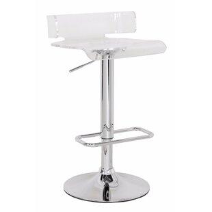 Emre Smart Looking Adjustable Height Swivel Bar Stool