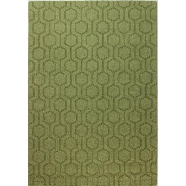Langley Street Ogden Hand Woven Light Green Area Rug U0026 Reviews | Wayfair