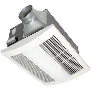 Whisperwarm 110 Cfm Bathroom Fan Heat Light Combination