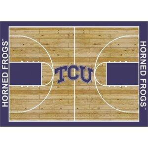 NCAA College Home Court Texas Christian Novelty Rug