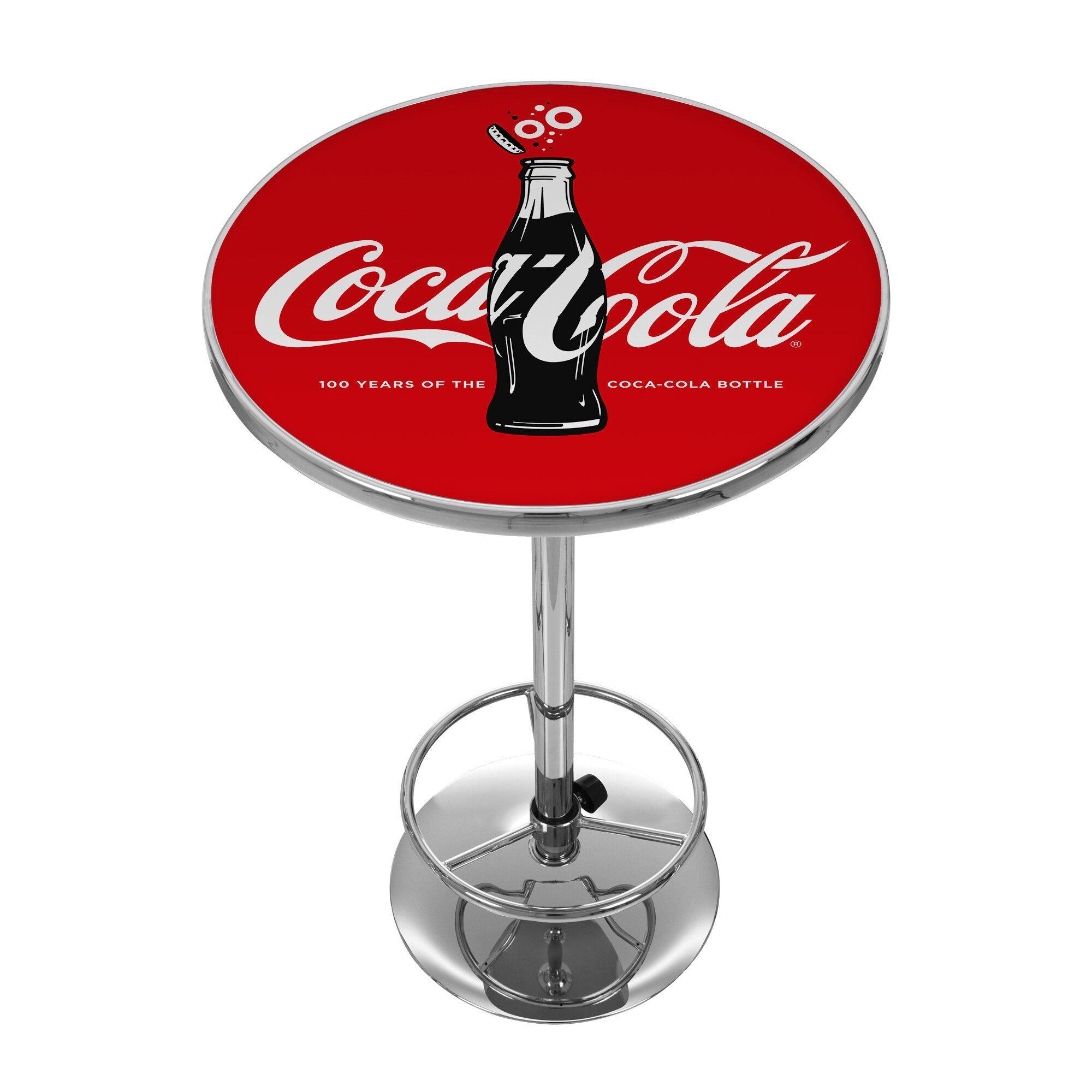 Trademark global coca cola 100th anniversary pub table for Cie publication 85 table 2