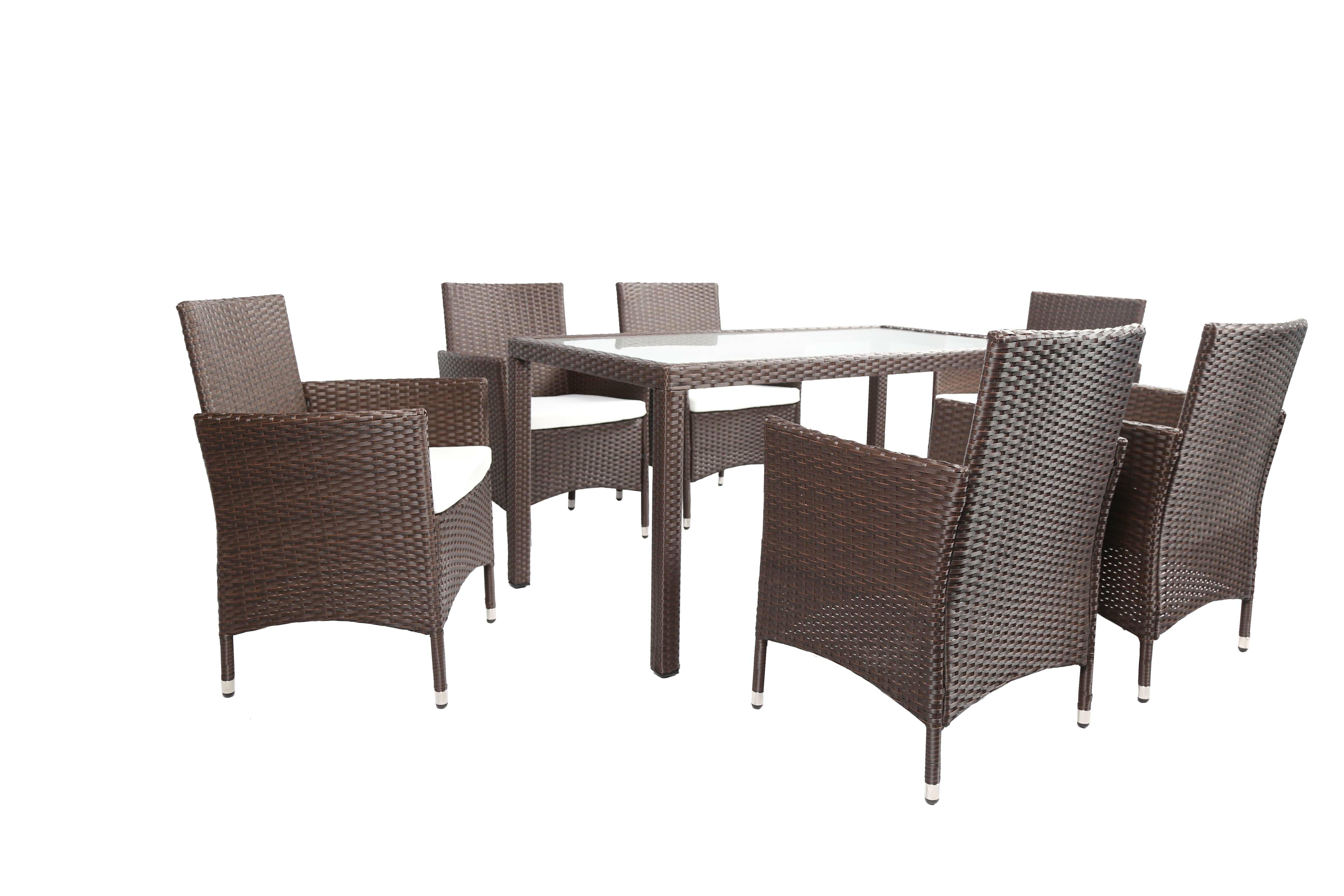 Wayfair 7 Piece Outdoor Dining Set