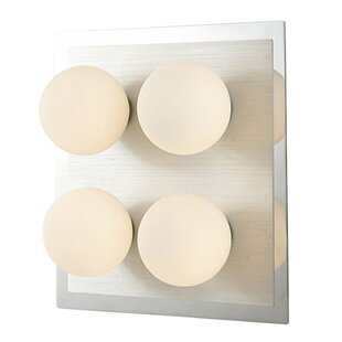 Globe 4-Light Flush Mount by Diyas