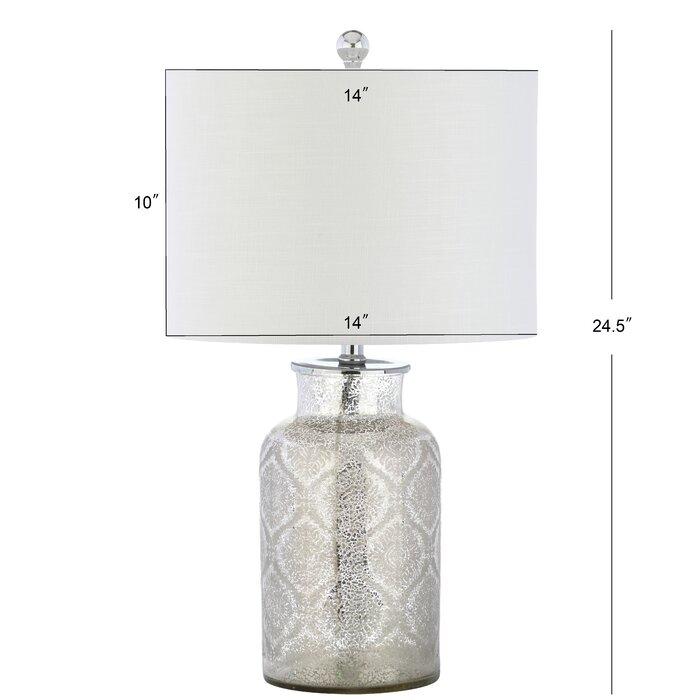 Landreth Trellis Pattern Gl 26 Table Lamp