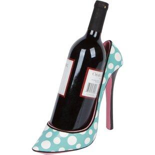 Cadiz High Heel Holder 1 Bottle Tabletop Wine Rack
