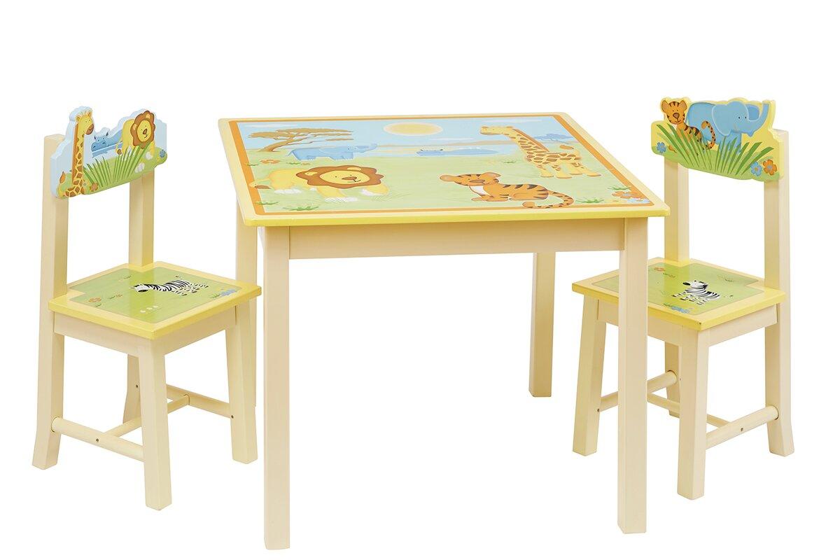 ungew hnlich kinderzimmermbel tisch und 2 sthle. Black Bedroom Furniture Sets. Home Design Ideas