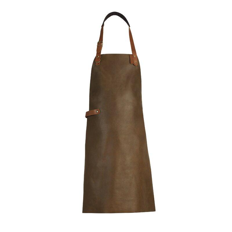 17 Stories Dutch Leather Apron  Color: Rust