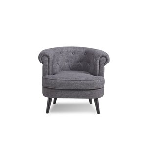 Donlon Traditional Barrel Chair by Charlton Home