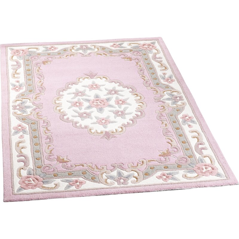Origins Shensi Wool Pink Rug & Reviews