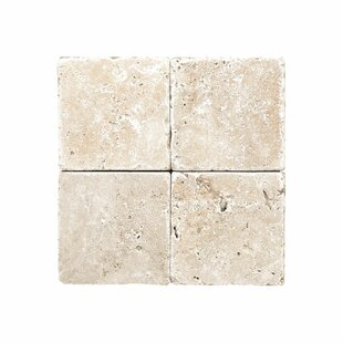 Rustic 0 38 X 6 Travertine Field Tile In Ivory