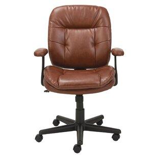 Incroyable High Back Leather Desk Chair