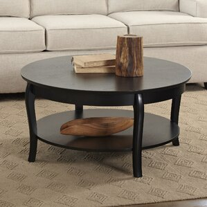 Alberts Round Coffee Table by Birch Lane?