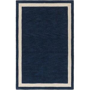 Cutrer Navy/Ivory Area Rug