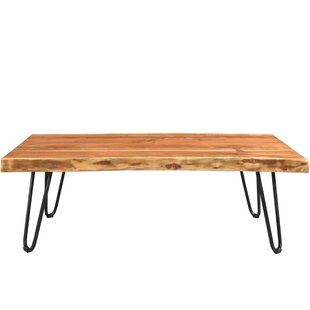Kourtney Sustainable Live Edge Acacia Coffee Table