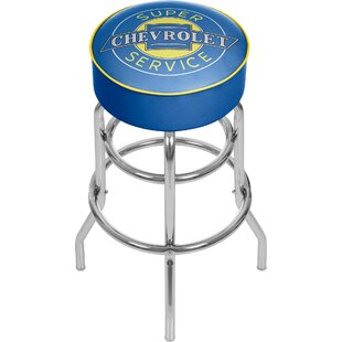 Chevy Super Service 31 Swivel Bar Stool