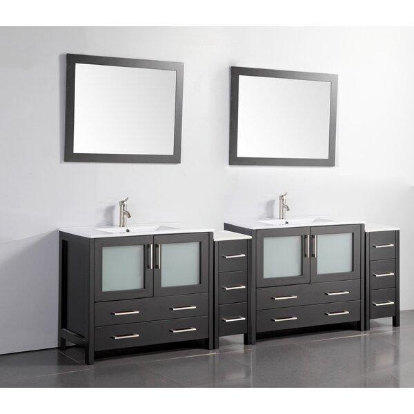 96 Inch Double Vanity