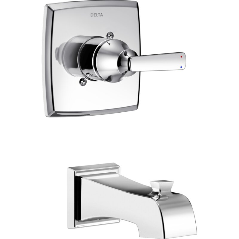 Delta Ashlyn Tub and Shower Faucet Lever Handles & Reviews | Wayfair