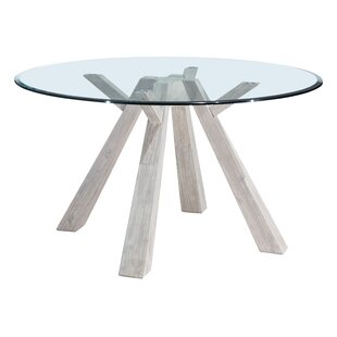 Cavanaugh Glass Round Dining Table
