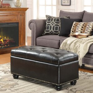 Sylvester Storage Ottoman by Three Posts