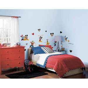 Disney Mickey and Friends Room Makeover Wall Decal