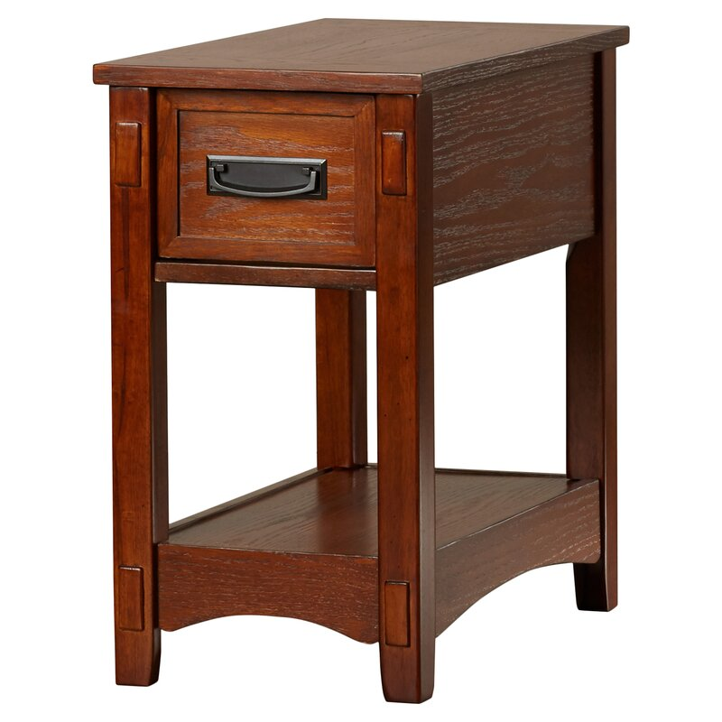 Barrett 1 Drawer End Table. End   Side Tables