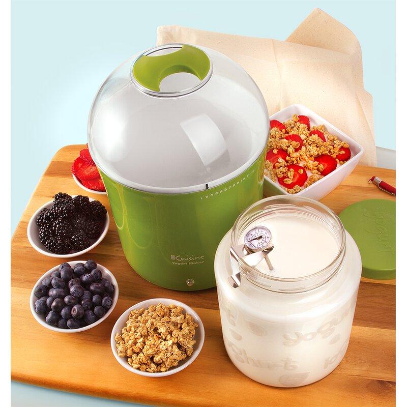 2 Qt Yogurt And Greek Maker With Glass Jar