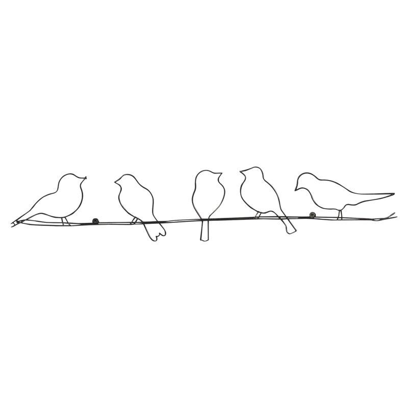 Rioux Birds On A Wire Wall Décor Reviews Allmodern