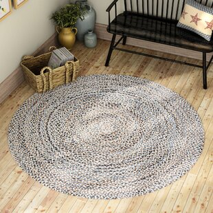 Berger Handmade Beige/Blue Area Rug by World Menagerie