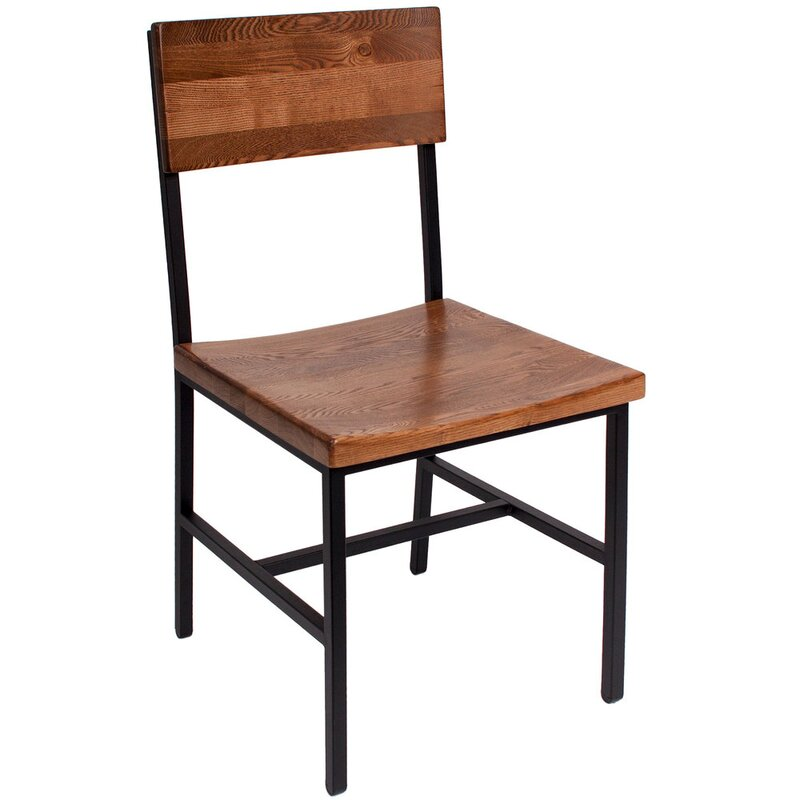 BFMSEATING Memphis Solid Wood Dining Chair & Reviews