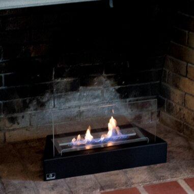 Design Table Ventless Bio Ethanol Fireplace Insert