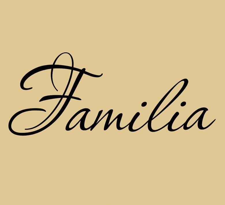 Vwaq Familia Spanish Family Wall Decal Wayfair