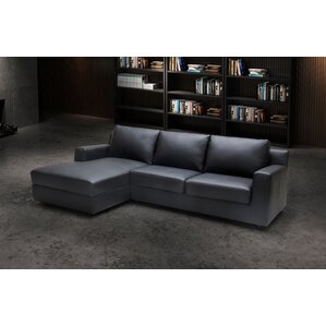 Leather Sleeper Sectional  sc 1 st  Wayfair : sleeper sectional sofa with chaise - Sectionals, Sofas & Couches