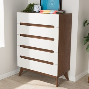 Brydon 5 Drawer Chest by George Oliver