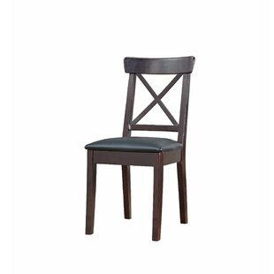 Celentano Padded Seat Wooden Upholstered Dining Chair