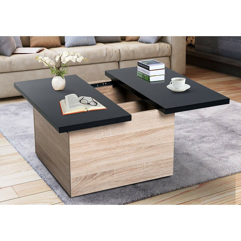 Coffee Table Extendable.Goodrich Extendable Coffee Table With Storage