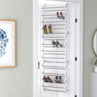 36 pair overdoor shoe organizer - Over The Door Shoe Rack