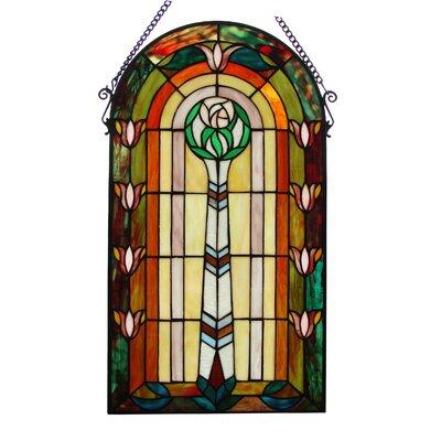 Tiffany Window Panel Fine Art Lighting