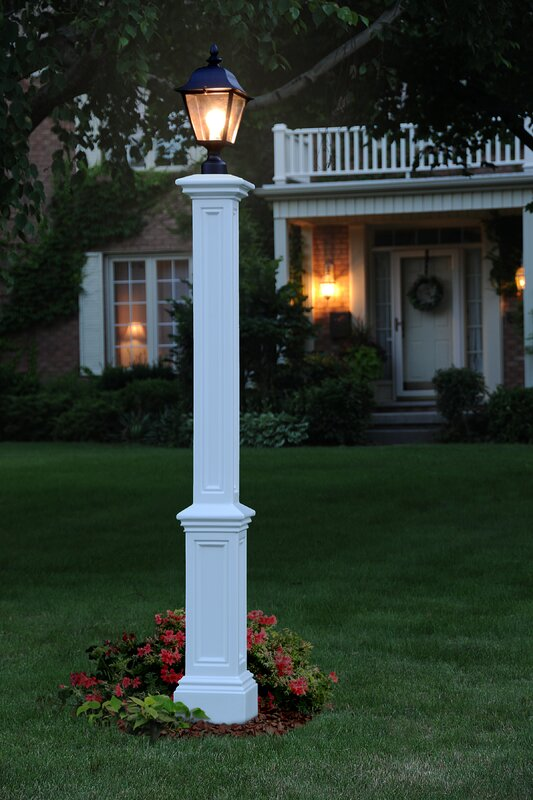 Mayne Inc Signature 72 Quot Lamp Post With Mount Amp Reviews