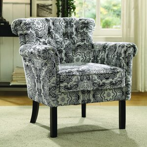 Kelvin Paisley Armchair by Latitude Run