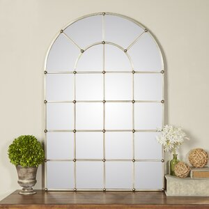 metal arch window wall mirror - Window Frame Mirror
